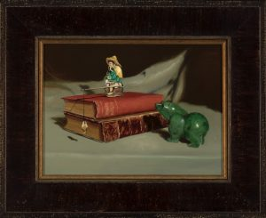 Aesop's Fables, a painting by Patricia Solin